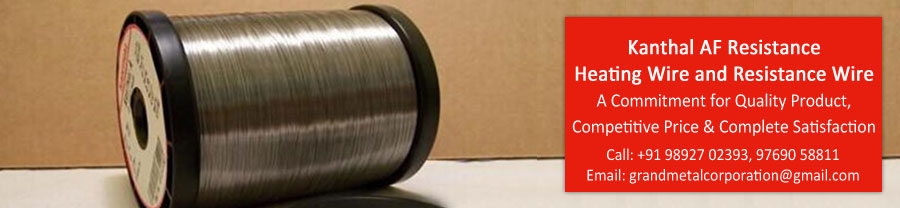 Kanthal AF Resistance Heating Wire and Resistance Wire